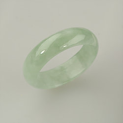 Size 10.5 U.S Jadeite Jade Band Fathers Day Gift Gift for Dad Father of the Bride Gift Gift for Husband Natural Gemstone Jade Ring